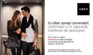 parteneriat Uber