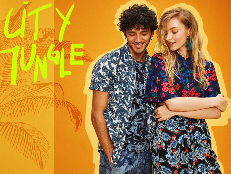 Trend Alert City Jungle printuri tropicale Answear